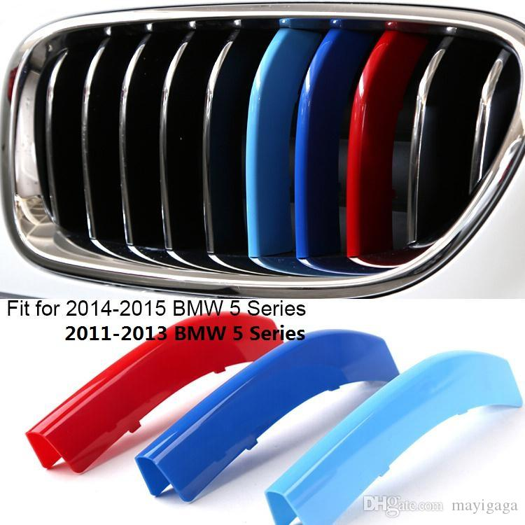 Car Styling Grille Stripe Decal Sticker Abs Grill Emblem For Bmw - Bmw grille stripe decals