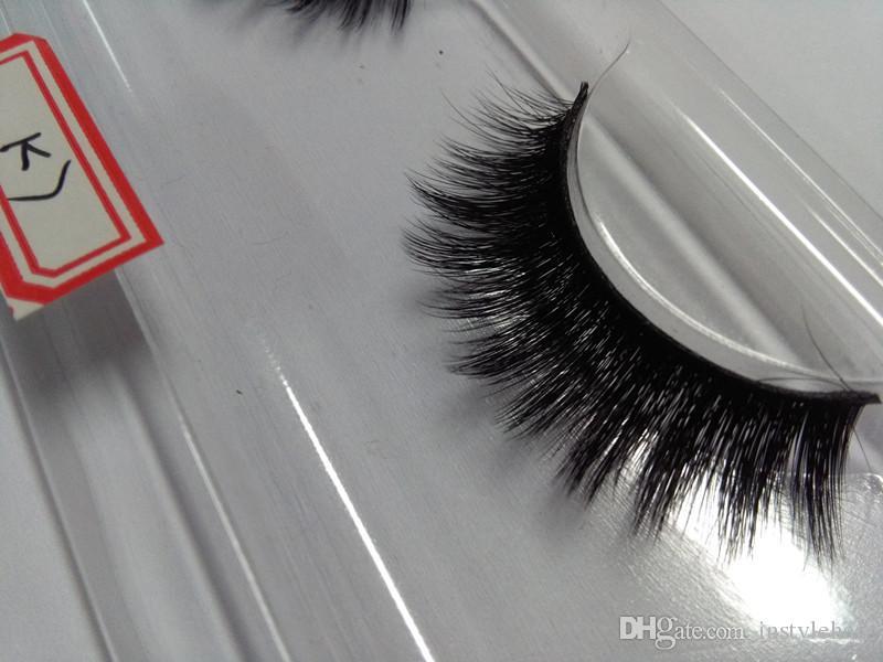 in stock 100% Handmade Siberian Strip lashes 3D Eyelashes Hot Sale 3D False Lashes