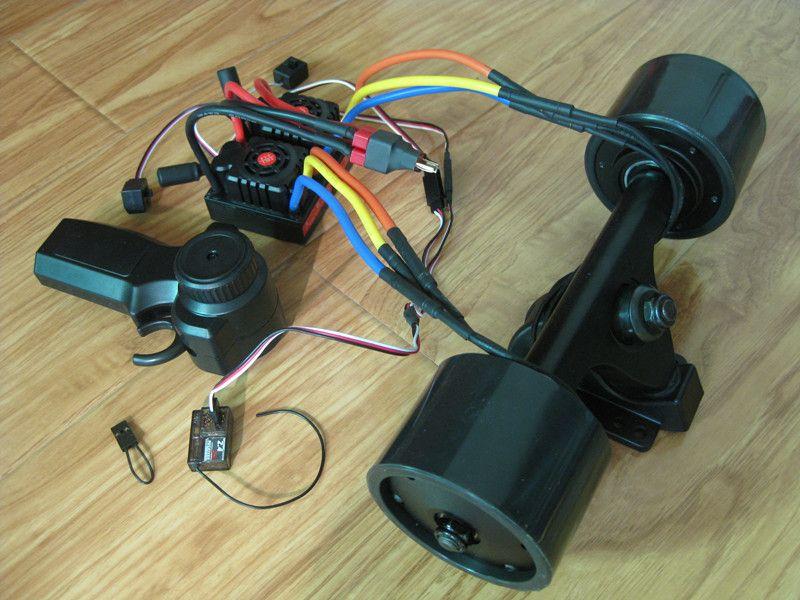 Electric Longboard 72mm Hub Motor Kit Skateboard Brushless