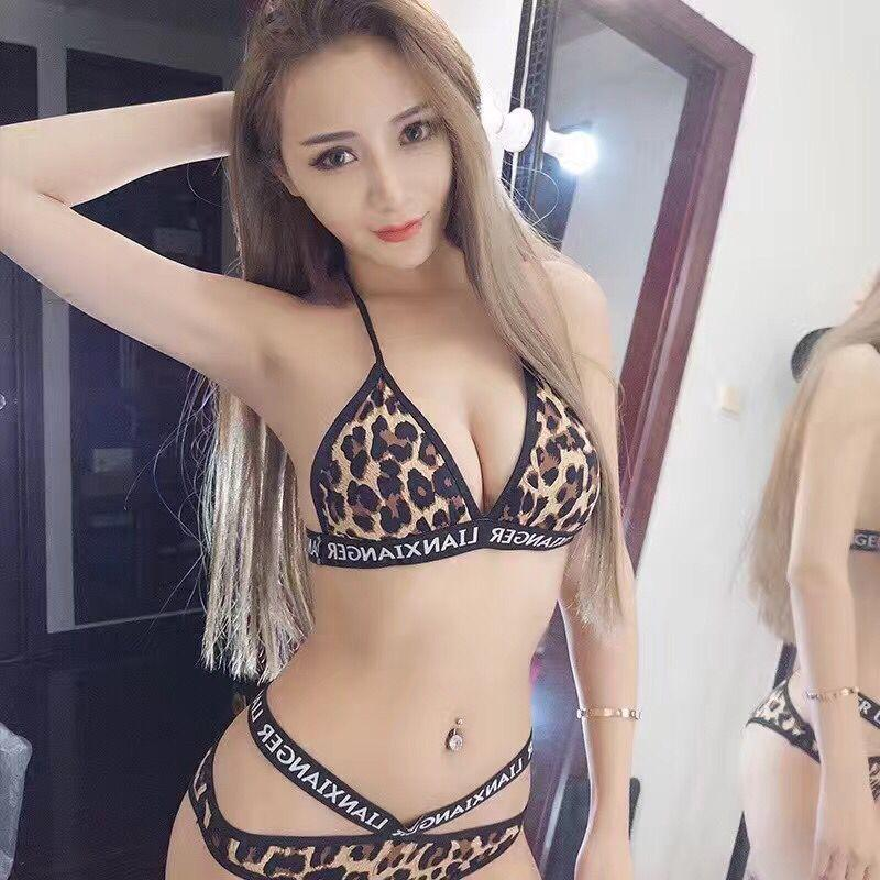 831e5e9d19 2017 Hot Bikinis Women Swimsuit Newest Sexy Leopard Bikinis Set Free ...
