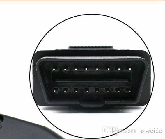 OBD2 Auto Bateria Ferramenta de Substituição de bateria de carro Jacaré Grampos de bateria Carro ECU Cabo de Alimentação de Emergência