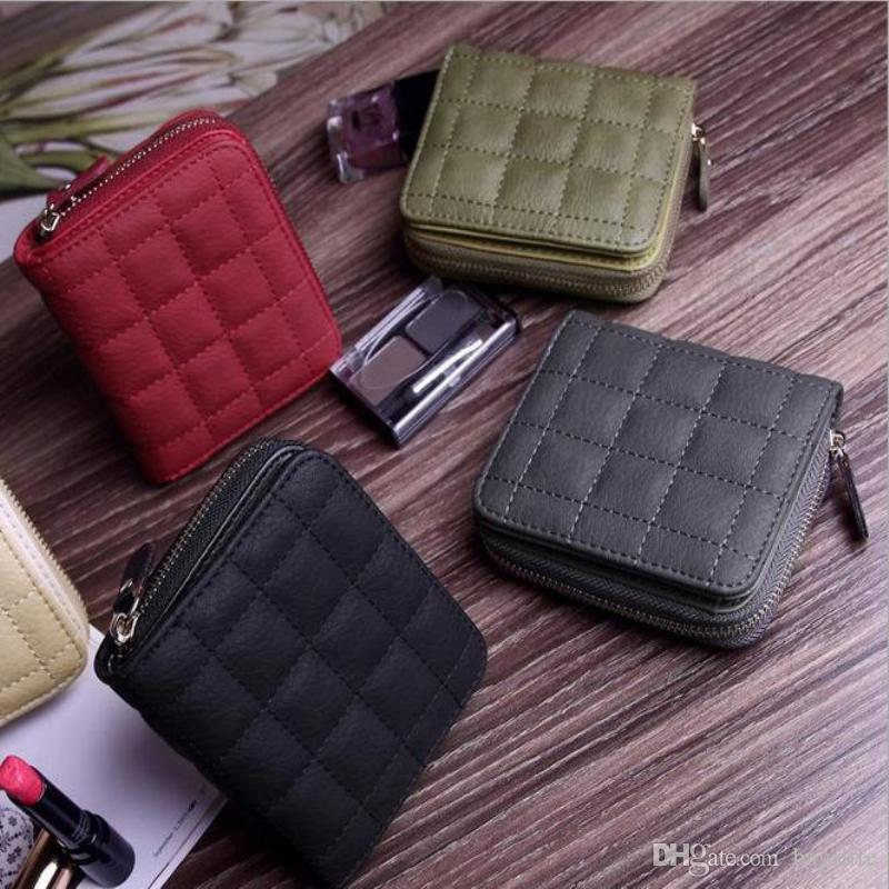 Hot Fashion Clutch Bag Mini Square Wallet Women Coin Purses Holders Wallet Female Leather Tassel Pendant Money Wallets