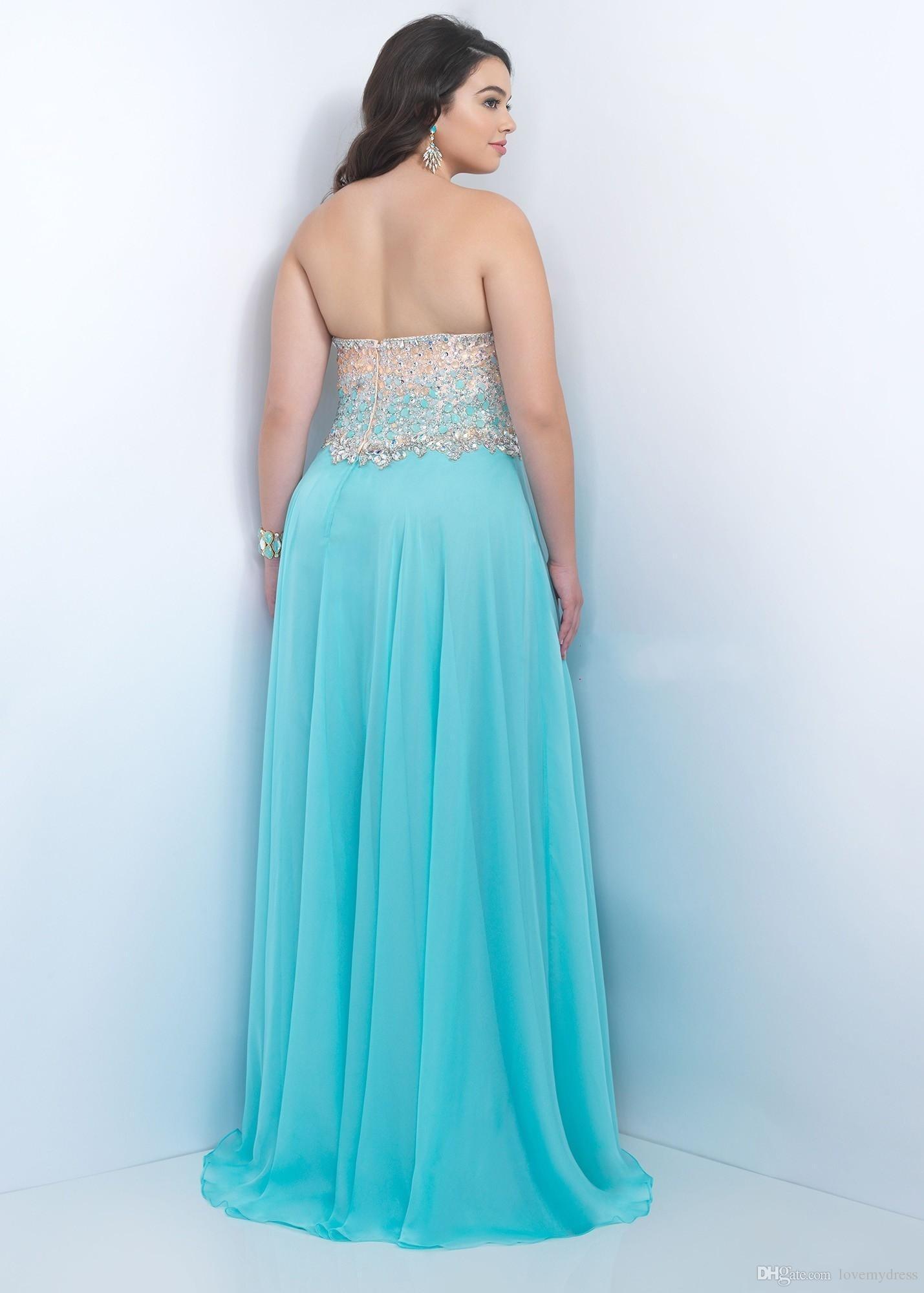 Plus Size Prom Dresses 2017 Crystas Elegante Beading Lantejoula Vestido Bling Brilhante Vestido Barato Até O Chão Custom Made Vestido de Noite MAIS TAMANHO