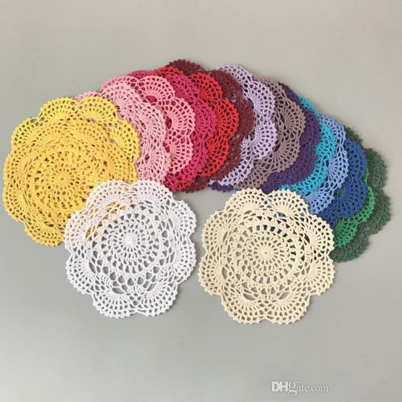 Cotton Placemat Cup Drink Coaster Mug Holder Kitchen Handmade Table