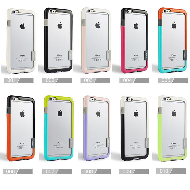 For iPhone 7 Walnutt Zenus Bumper Case 6s Anti-shock TPU PC Frame Protector for 7+ 6plus 5 5s SE Samsung S6 Edge S5 Note5 Note4 Note3