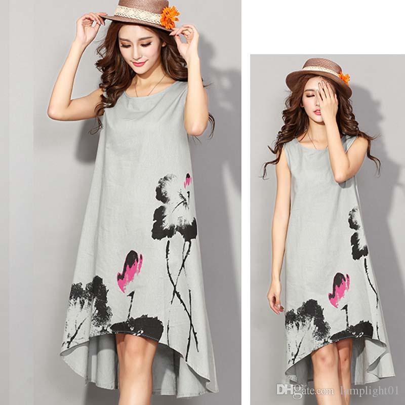 Vestidos en lino para mujer