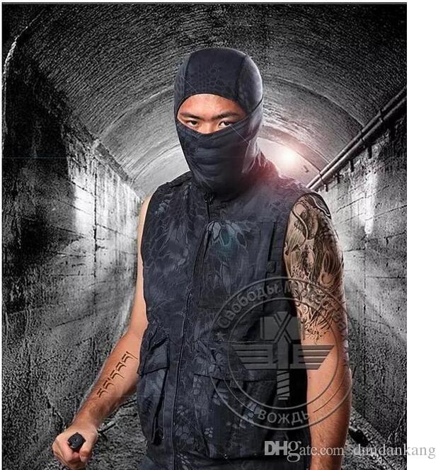 cappe tattici magia del camuffamento bicicletta Cappelli maschere all'aperto sciarpa magica bandane fasce turbante militari di fitness in esecuzione tappo maschera Equitazione