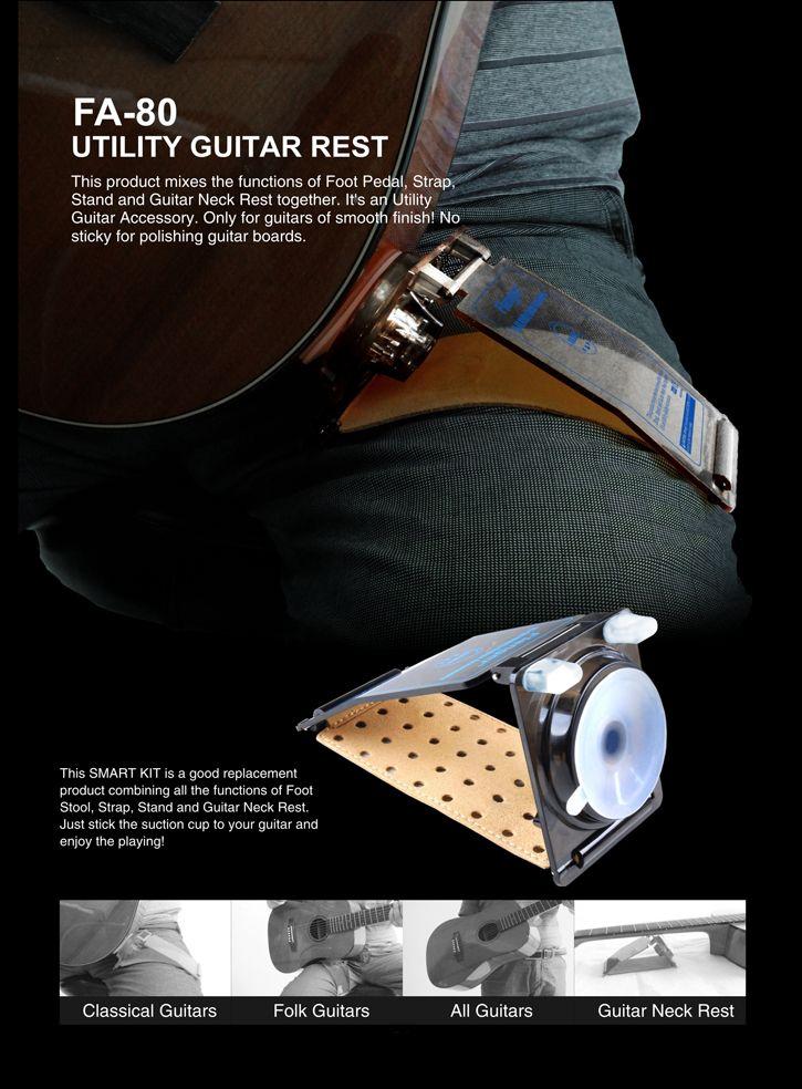 Flanger FA-80 Utility chitarra accessorio chitarra Supporto chitarra di tutte le taglie di chitarra
