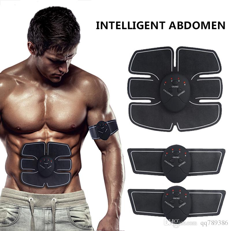 22973682ac 2019 Abdominal Muscle Toner Body Toning Fitness Training Gear Abs Fit Training  ABS Fit Weight Muscle Training Ab Belt Toning Gym Workout Machine From ...