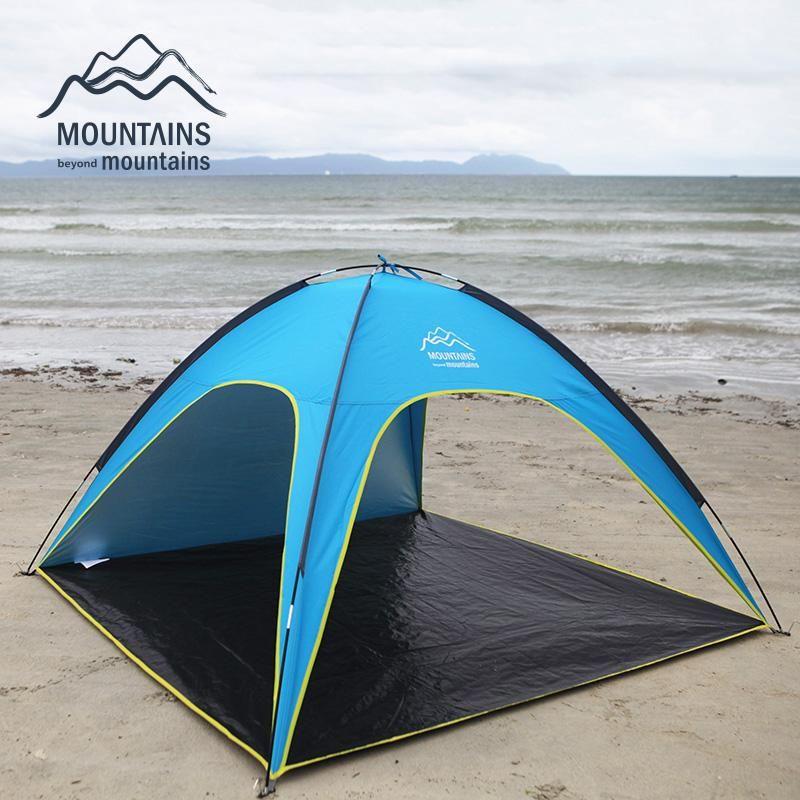 Tende Per Esterni Resistenti Al Vento.Acquista Wholesale 4 Persone Tenda Da Spiaggia Ultralight Beach