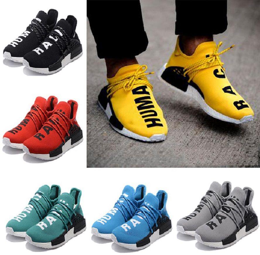 These Rare Pharrell Williams x adidas Originals NMD Human