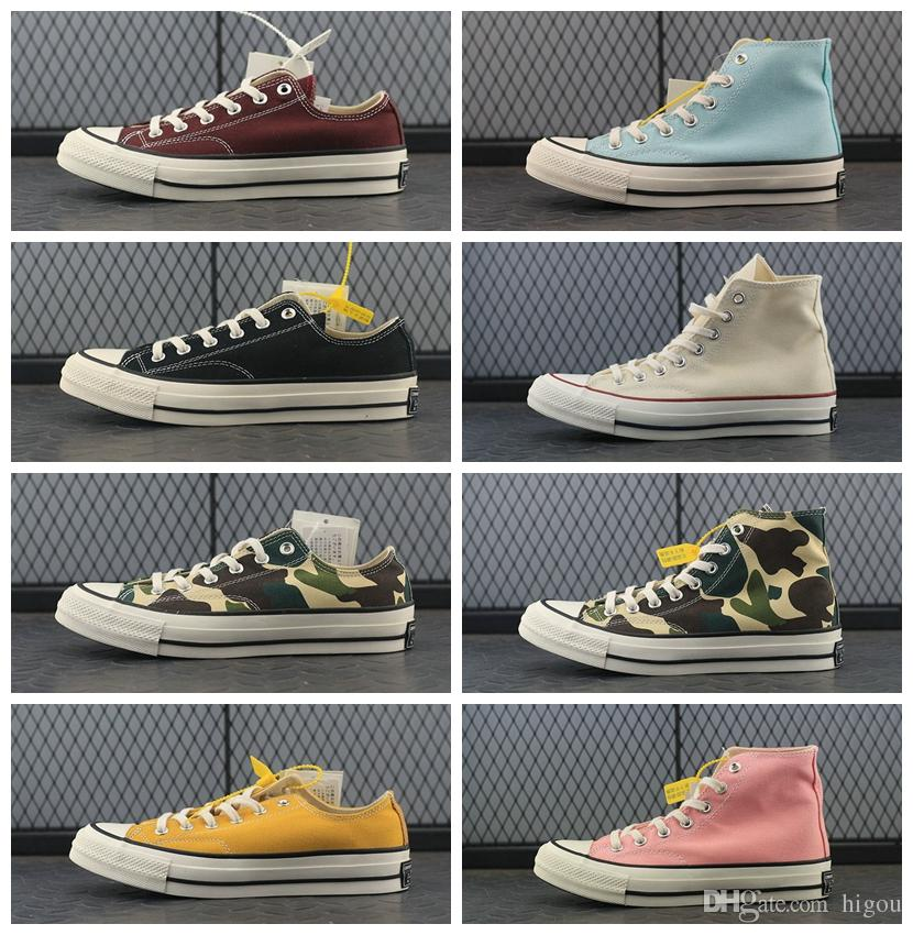 b0ec2ce74b Compre 2017 Viciado Converse Chuck TayLor All Star Núcleo Sapatos Casuais  Clássicos Sapatos De Lona Preta Mulheres Homens Conversa Skate Sneakers 35  44 De ...