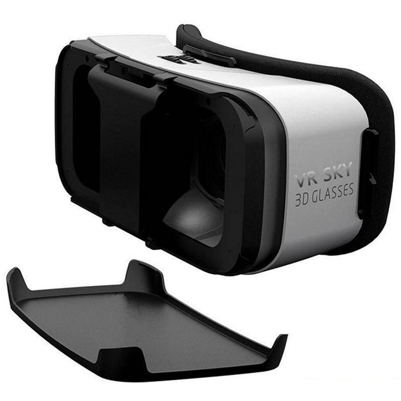 ITSYH VR Sky 3D Glasses 2.0 Virtual Reality Glasses VR Box for 4.7~6 Inch Smartphones for 3d Movies and Games TW-413