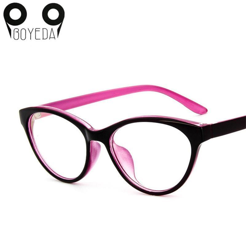 661d2e23211f Wholesale- BOYEDA Cat's Eye Optical Glasses Frame Brand Fashion Women  Myopia Eye Glasses Frame Vintage Retro Spectacle Eyewear Eyeglasses