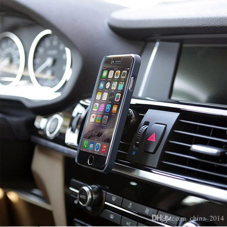 자동차 마운트 홀더 공기 환기 자기 유니버셜 핸드폰 및 미니 태블릿 스위프트 스냅 에어 아웃렛 휴대 전화 랙 홀더