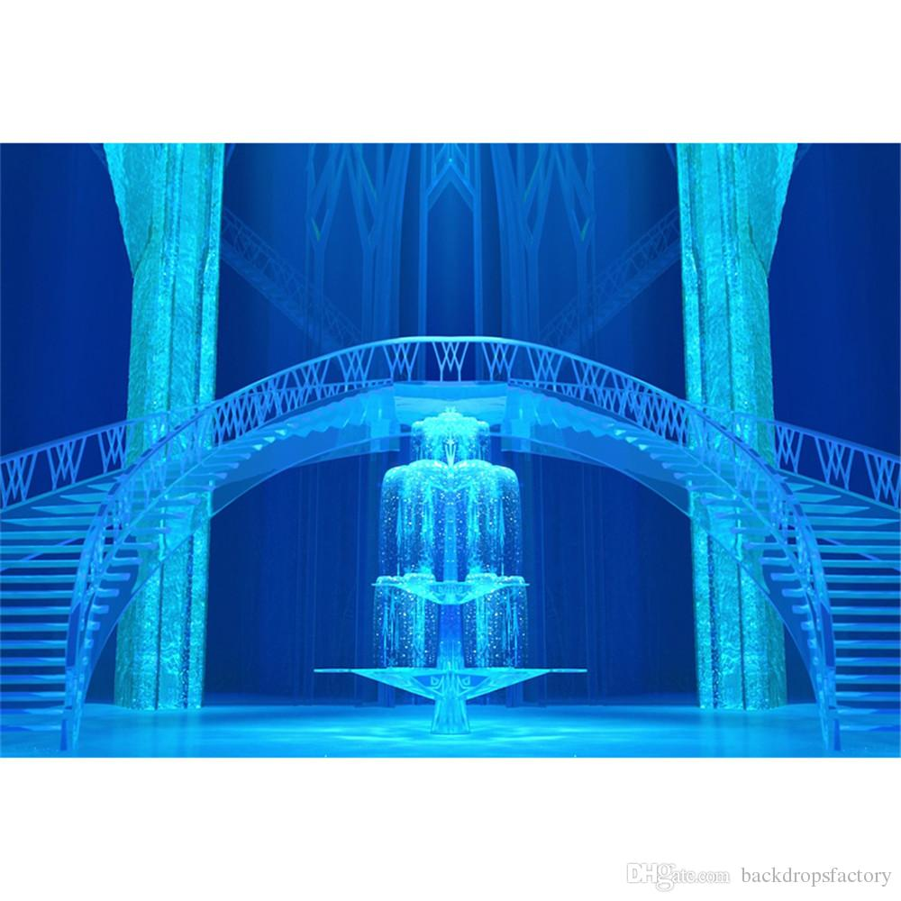Interior Frozen Palace Photography Backdrops Princess