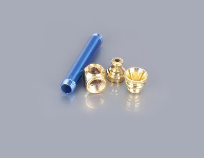 A nova mini-mistura de tubo de metal pequeno pode ser removida para limpar o tubo de martelo portátil