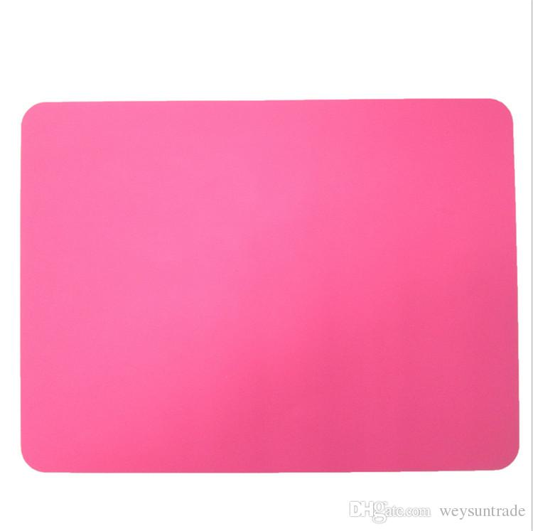 Thick silicone Bakeware Mat Sheet Placemat heat insulation pad napkin dining table tray mat coasters Western pad desk pad