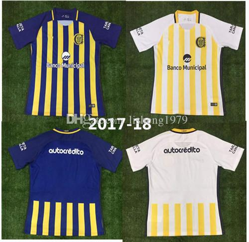 2019 Top Thai Quality 17 18 Argentina Rosario Central Jersey Home Jersey  2017 2018 Away Shirt Rugby Jersey Free Delivery From Lisheng1979 6c05d216f