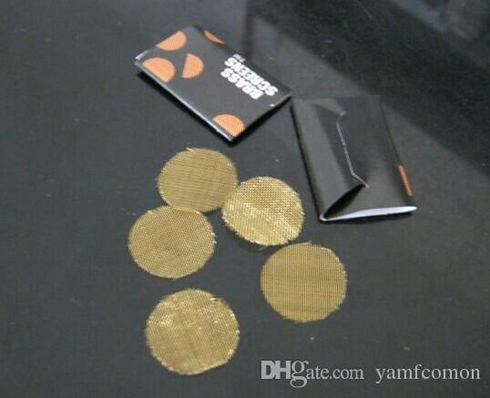 1000 packs / 5screens / paketi çelik ekran filtre ot sigara boru, metal boru tokmak boru toke boru, ücretsiz shippment