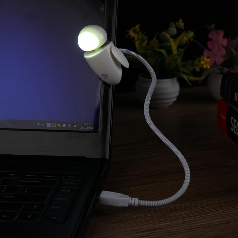Grosshandel Portable Usb Fuhrte Nachtlicht Roboter Lampe Tastatur
