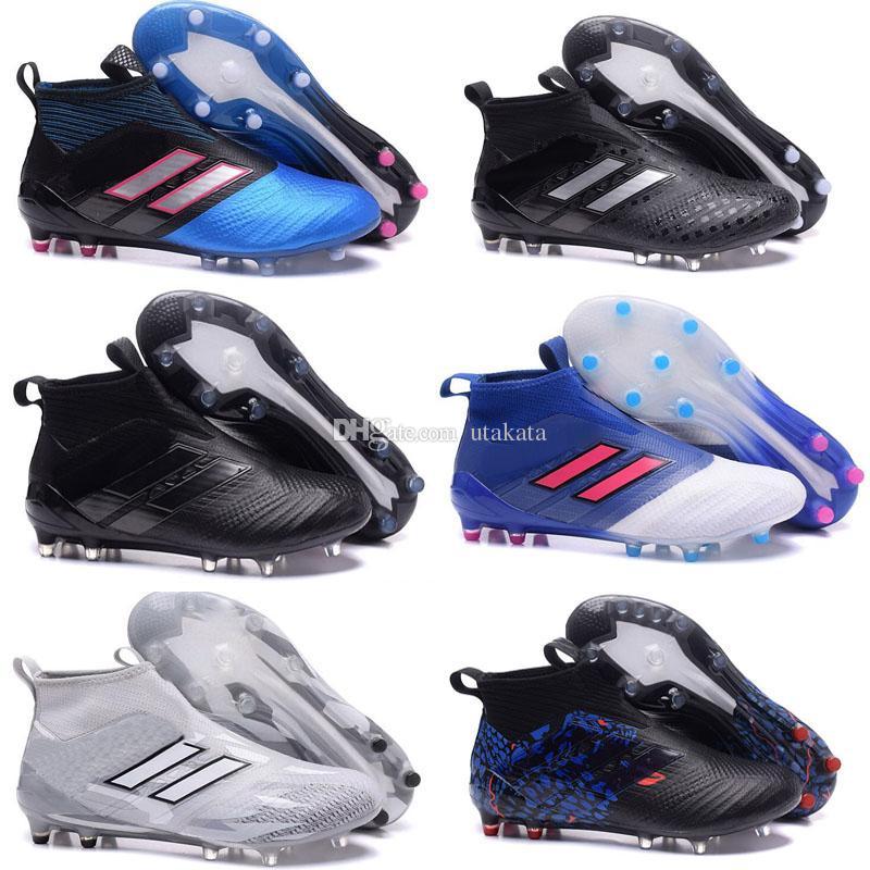 separation shoes b73d6 2ad49 Men High Tops Soccer Cleats X 16 Purechaos FG messi Pureagility Football  Boots ACE 17 Purecontrol 17.1 Pure Control Indoor Soccer Shoes Copa