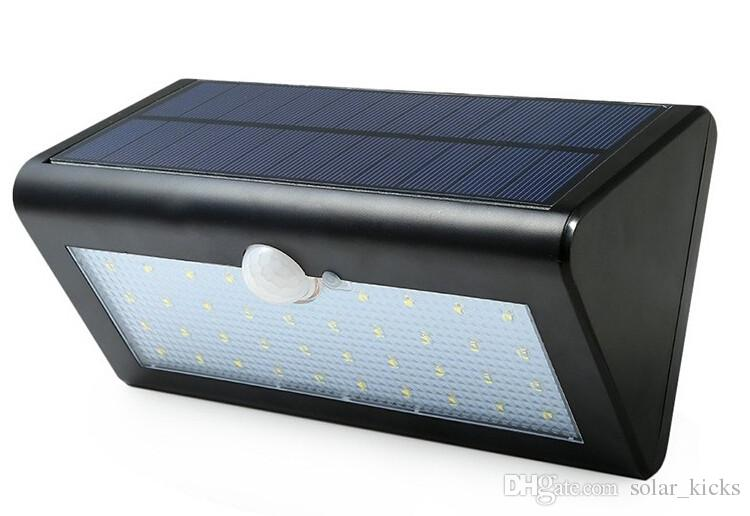500 LM Waterproof Solar Powered Outdoor Motion Sensor Detector Wall Light Path Patio Lighting Security Night Lights Lamp