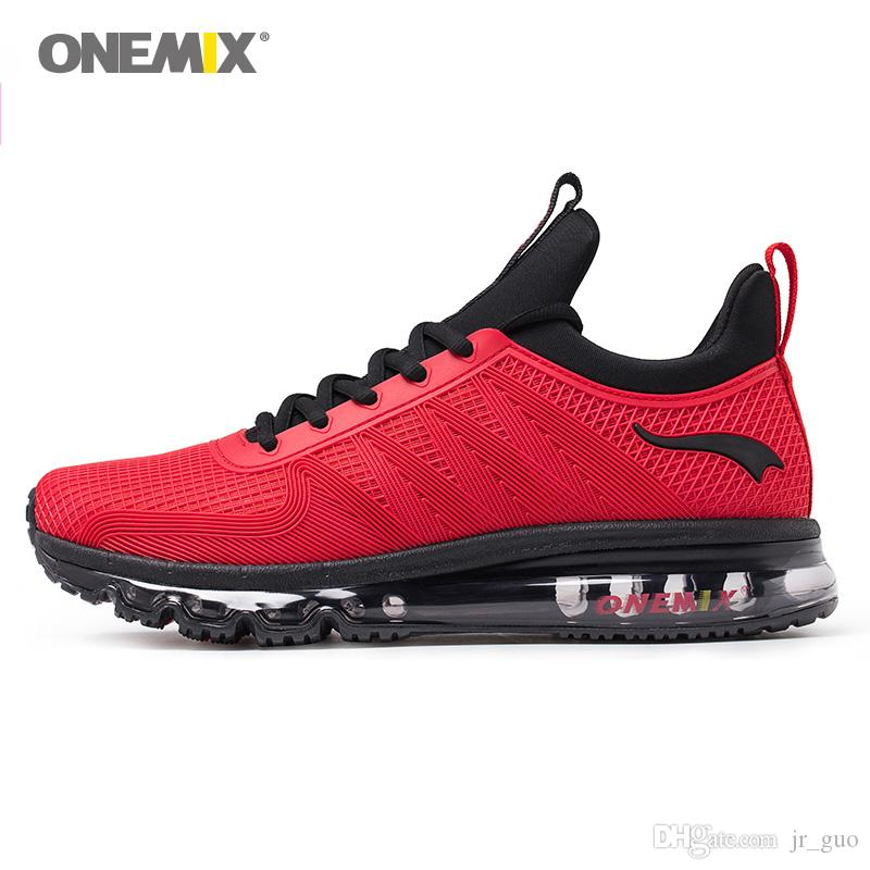 4e9321a15f0740 2019 ONEMIX New Man Running Shoes For Men Air Cushion Fashion ...