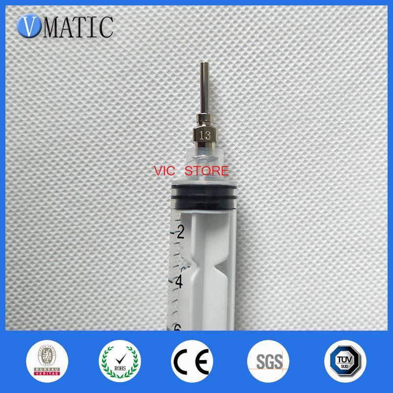 0.5 inch Tip Length 13G All Metal Tips Blunt Stainless Steel Glue Dispensing Needles Syringe Needle Tips