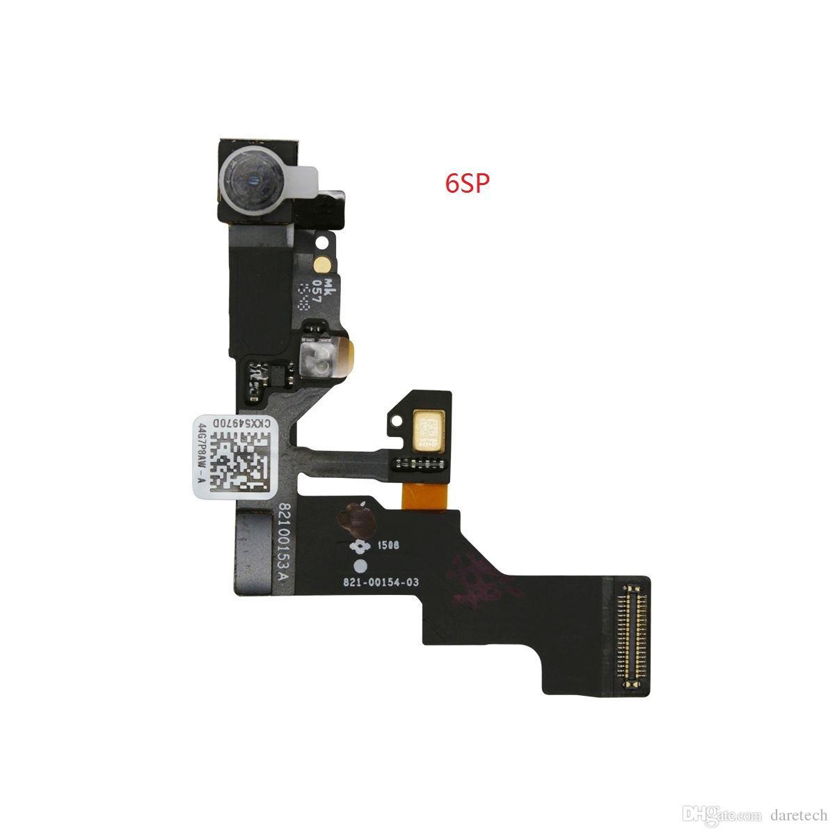 Sensor de luz de proximidad de alta calidad frente a la luz del sensor Flex Ribbon Cable para iPhone 5 5s 5c 6 6S Plus 4.7