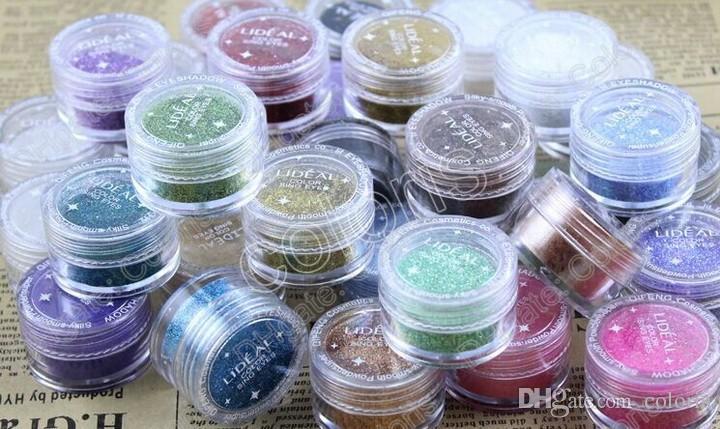 Tanz Make-up wichtiges Pearl Powder Glittler Lidschatten Pigment Hochhellrosa