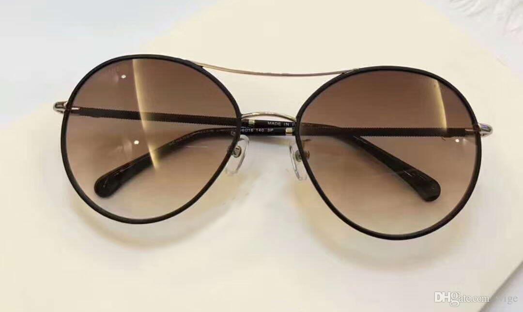 86f4f4d1f19 Women Designer 4228 Gold Rimmed Sunglasses Sonnenbrille Black Brown  Gradient Lens Sonnenbrille Shaded Brand Fashion Sunglass New With Box Best  Sunglasses ...