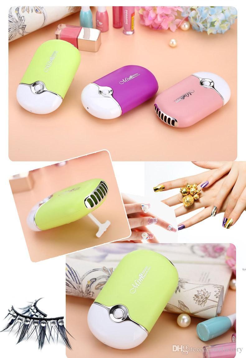 Mini ventilatore portatile di raffreddamento del dispositivo di raffreddamento di umidificazione del condizionatore d'aria tenuto in mano portatile 50ps /