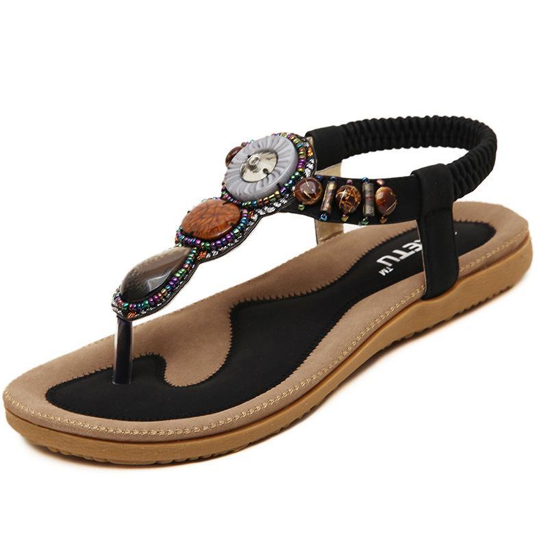 Girls Summer Flip Flops Women Large Size Casual Flat Sandals Beach Shoes