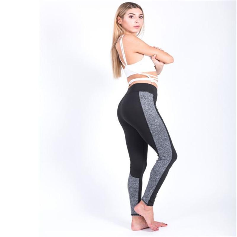 Nouvelle Dame Leggings Sport Pantalons De Yoga Leggings Fitness Crayon Pantalon Femmes Legging Mince Sexy Collants Pantalon Brillant Ouc2047