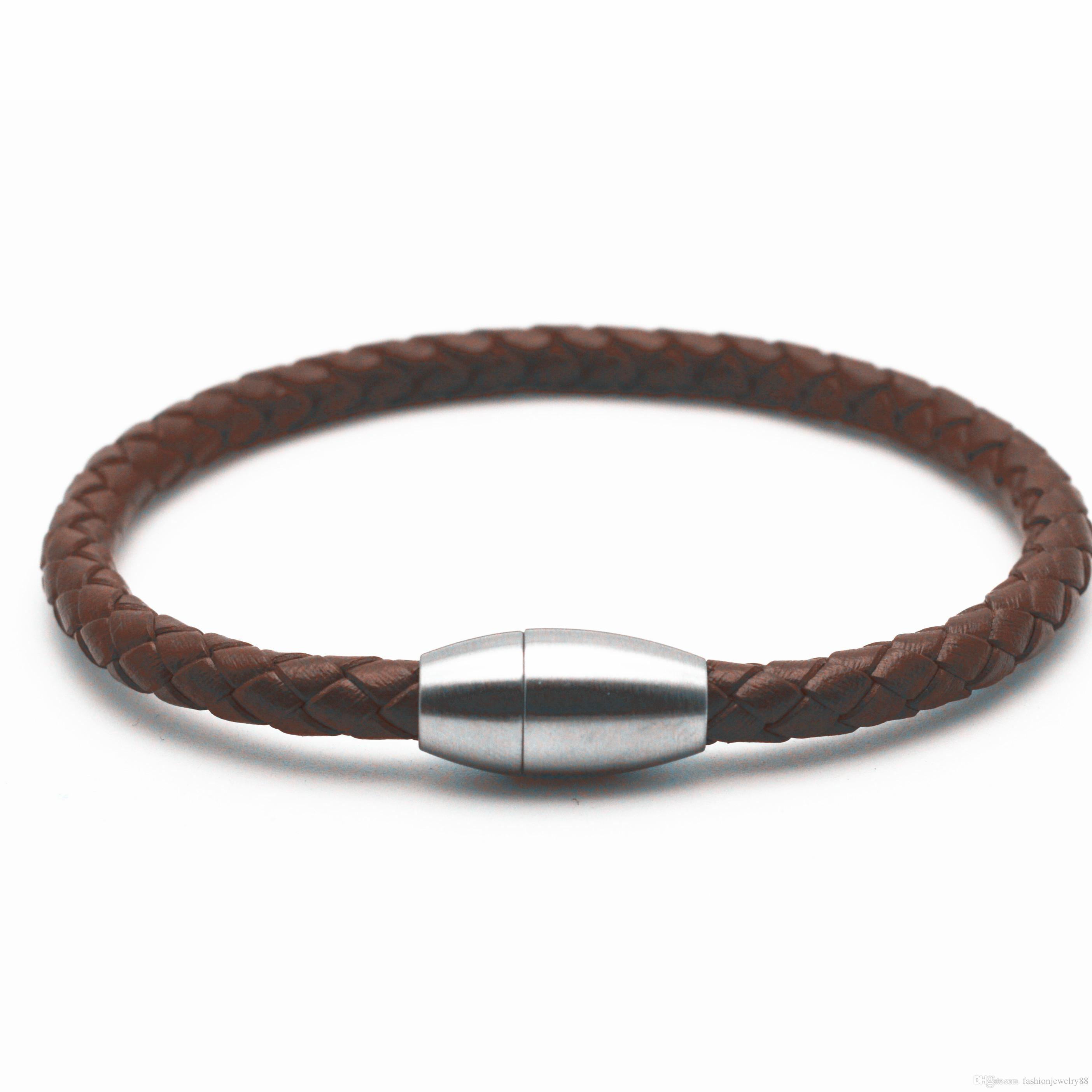 men leather product in gallery fossil for black jewelry normal male lyst double bracelet wrap