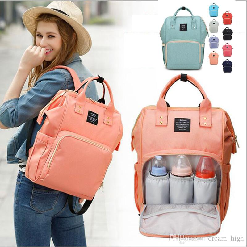 7ea51677463 2019 Fashion Diaper Mummy Maternity Nappy Bag Brand Large Capacity Baby Bag  Outdoor Travel Backpack Designer Nursing Bag Organizer For Baby Care From  ...