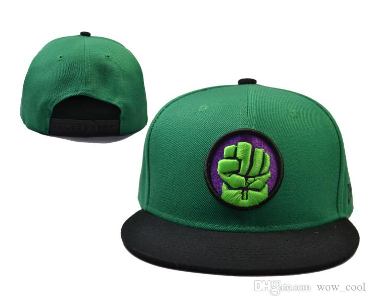 4b1f6fa9ad04a Compre Marvel Comics The Incredible Hulk Snapbacks Moda Cartoon ...
