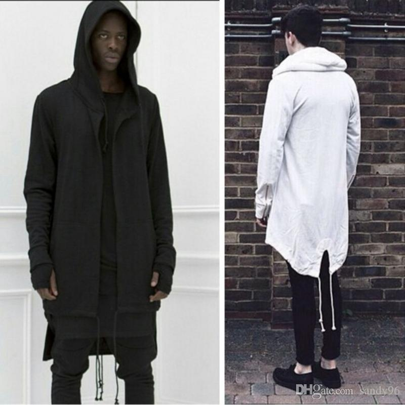 New Fashion Autumn And Winter Men's Sweater Long Hooded Cardigan ...