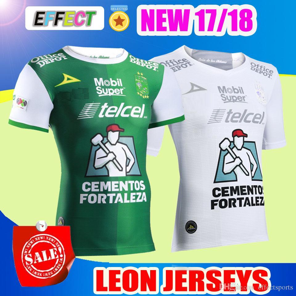 a267150e9 Top Thailand Quality AAA+ 2017 2018 Mexico Club LEON Soccer Jerseys  M.BOSELLI E.