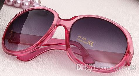 2017 ms óculos de sol do palhaço óculos de sol quadro óculos de sol meninas um pedaço Multicolor quadros fabricantes sol por atacado de moda