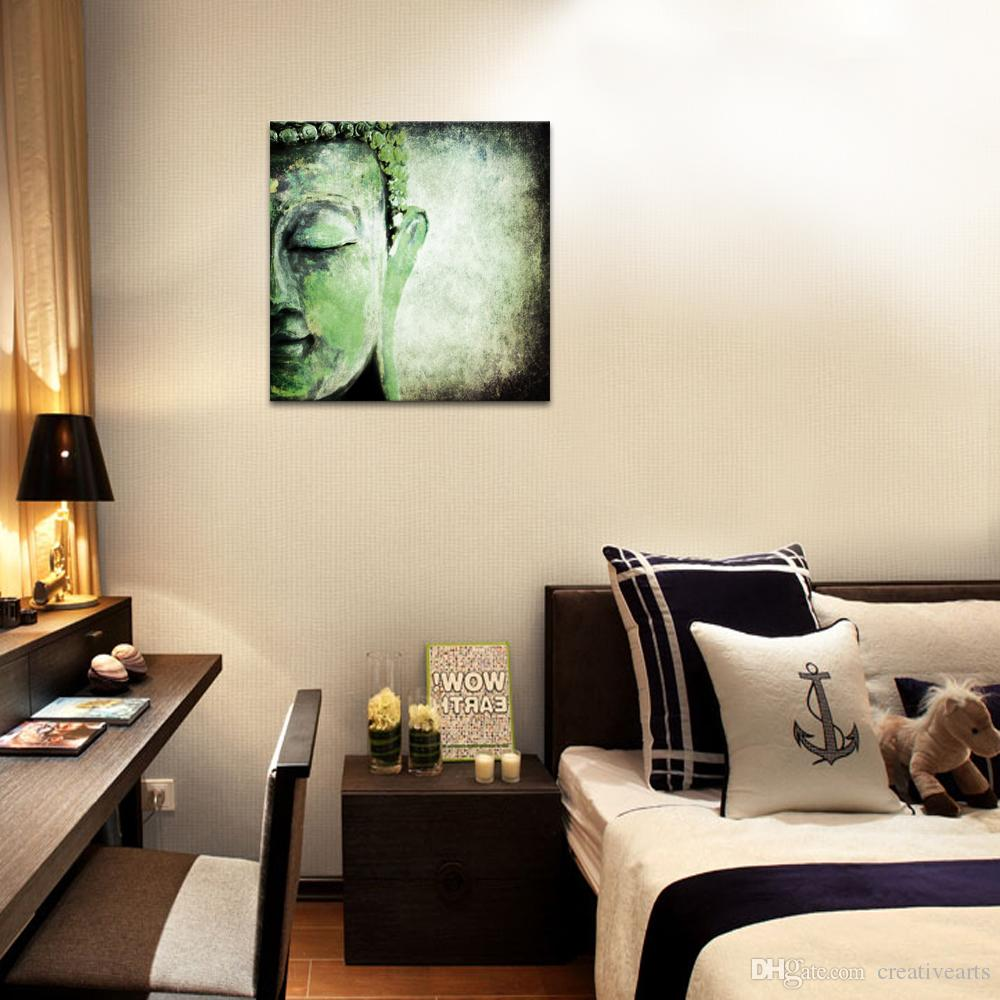 1 Panel Religious Painting Custom Canvas Art Print HD Buddha Canvas Wall Decor for Living Room Wholesale/SJMT1883