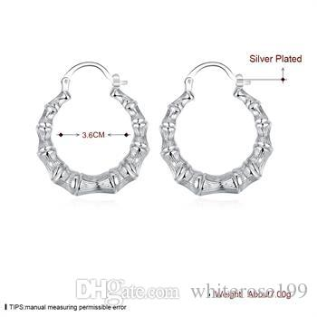 Wholesale - lowest price Christmas gift 925 Sterling Silver Fashion Earrings E139