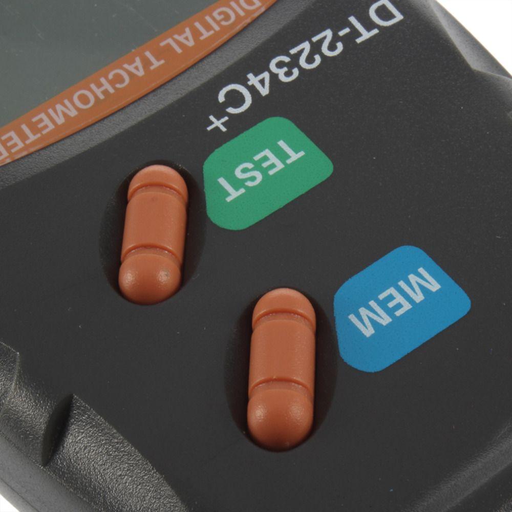 Dijital Lazer Takometre RPM Metre Temassız Motor Hız Ölçer Devrimi Spin Ücretsiz Kargo