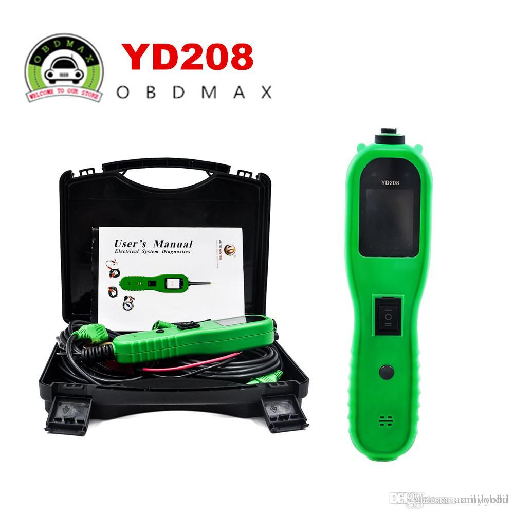 Electrical System Circuit Tester Vxdas Vsp200 Vehicle Super Probe Kit With Case And Yd208 Power Powerful Function Rh