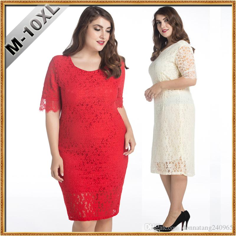 10xl Big Size Dresses Women Elegant Square Neck Lace Prom Dress Plus