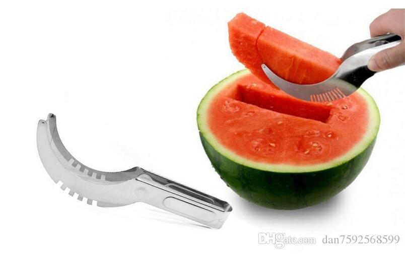 Online Cheap New Stainless Steel Watermelon Slicer Cutter Kitchen ...