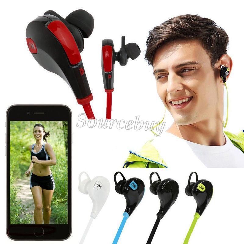 Bluetooth sans fil 4.1 Écouteur stéréo QY7 Sport Running Ecouteurs pour iPhone Samsung Xiaomi avec Forfait de détail mains libres