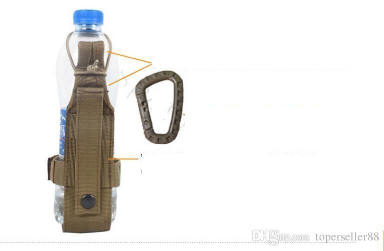 Армия тактический Molle столовая крышка бутылки чехол кобура нейлон сумки чайник наборы для воды чашки камуфляж армия тактический Molle