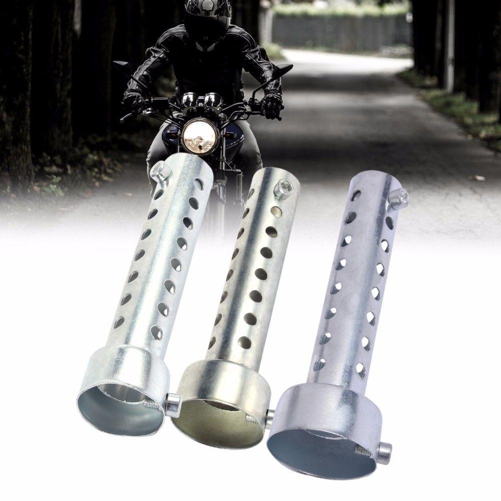 1 Pcs Universal Motorcycle Exhaust Can Muffler Insert Baffle DB Killer  Silencer 35mm 3 Colors Metal